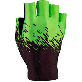 Supacaz SupaG Short Finger Gloves black/neon green